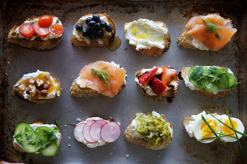 how to make crostini toast in advance