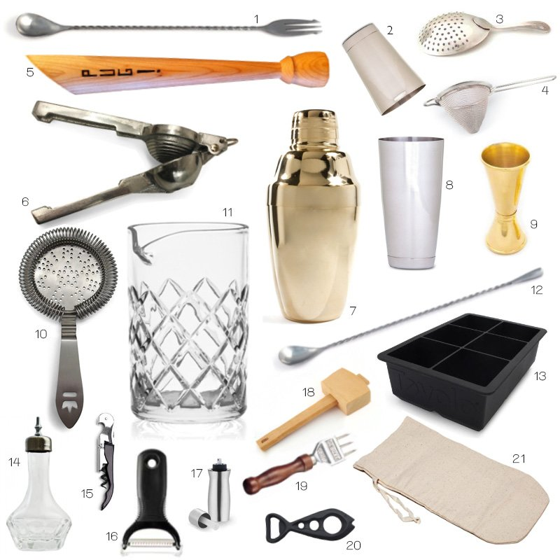 Bar Tools and Barware