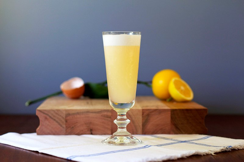Meyer Lemon Sour // HonestlyYUM