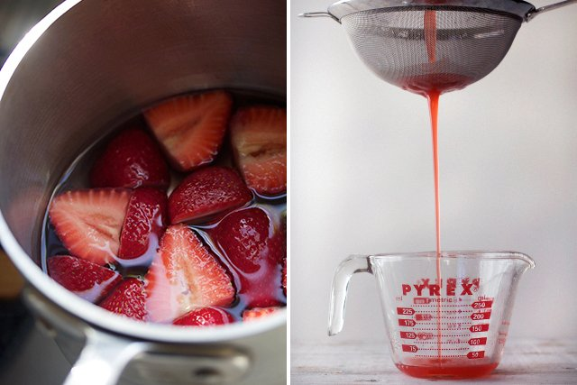 Strawberry Syrup Recipe // HonestlyYUM