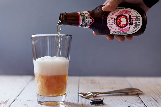 Hitachino Nest Red Rice Ale // HonestlyYUM