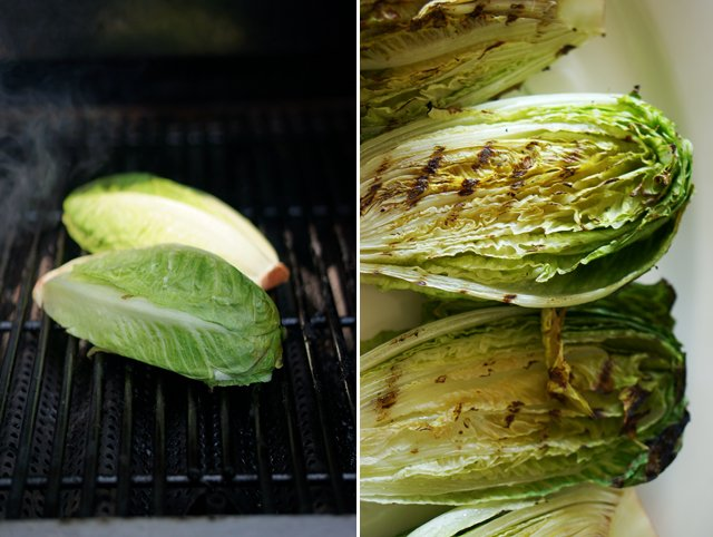 grilled romaine salad 1
