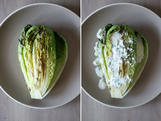 grilled romaine salad 2