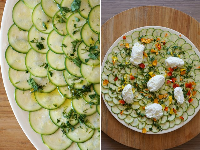 Zucchini Carpaccio – HonestlyYUM
