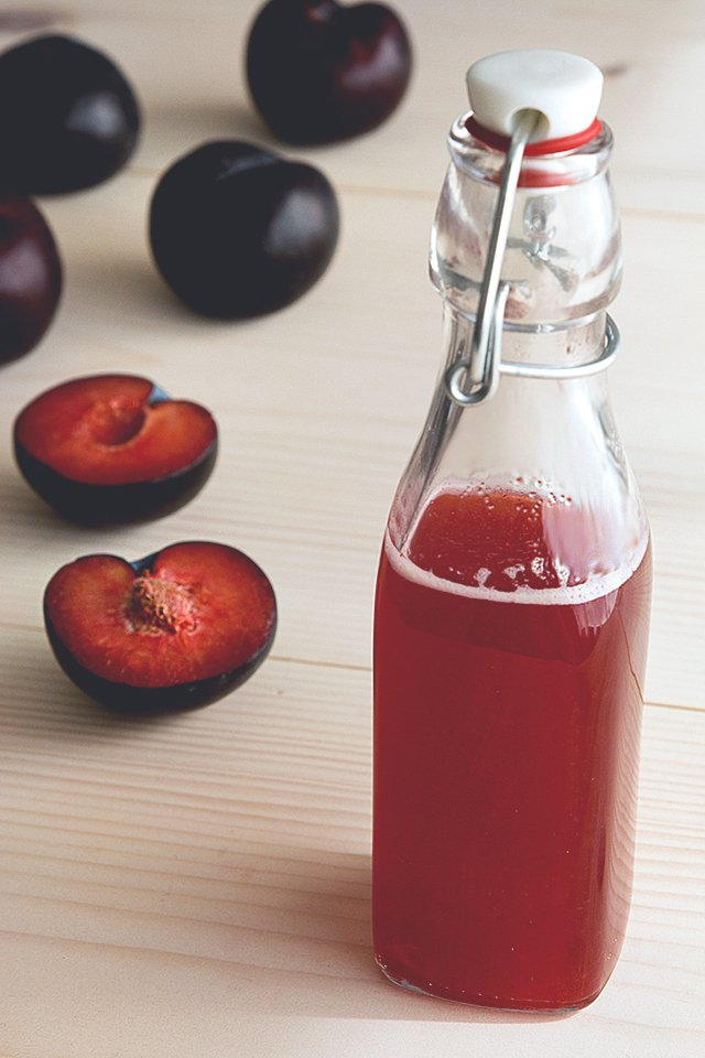 Plum Shrub // HonestlyYUM