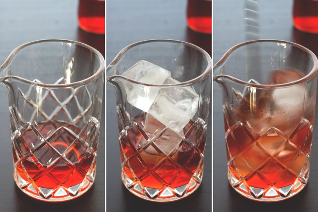 Boulevardier Cocktail // HonestlyYUM