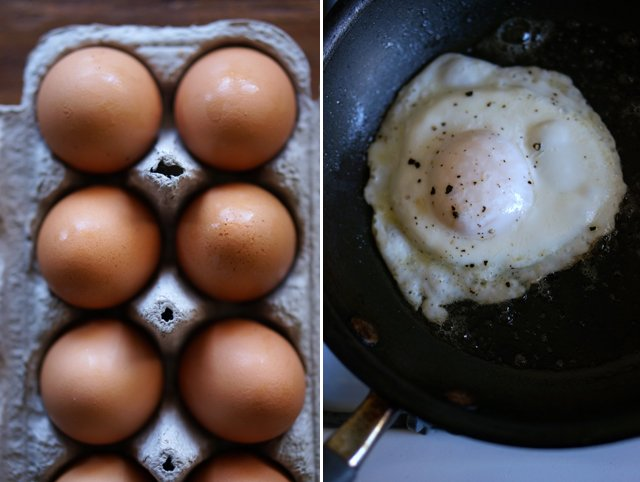 how to fry an egg 1