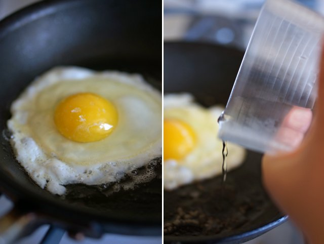 how to fry an egg 2