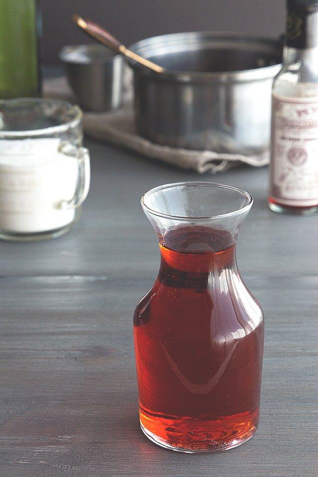 Sazerac Cocktail Syrup // HonestlyYUM