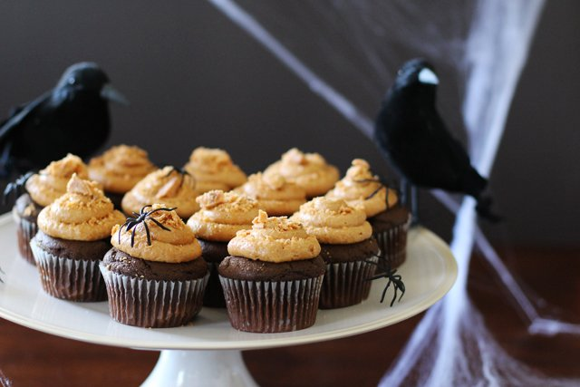 Butterfinger Cupcake 7