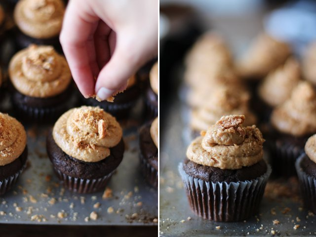 Butterfinger Cupcakes 5