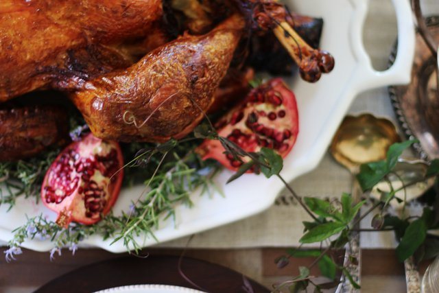 turkey breast pomegranate brined roast turkey dry brined turkey this ...