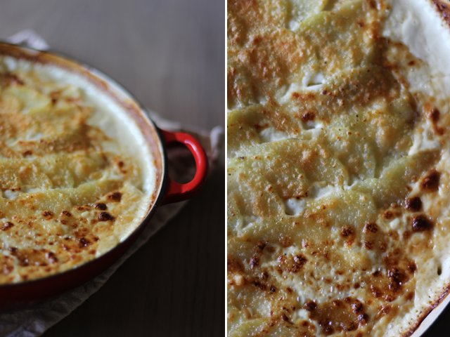 Potato bacon leek gratin 7