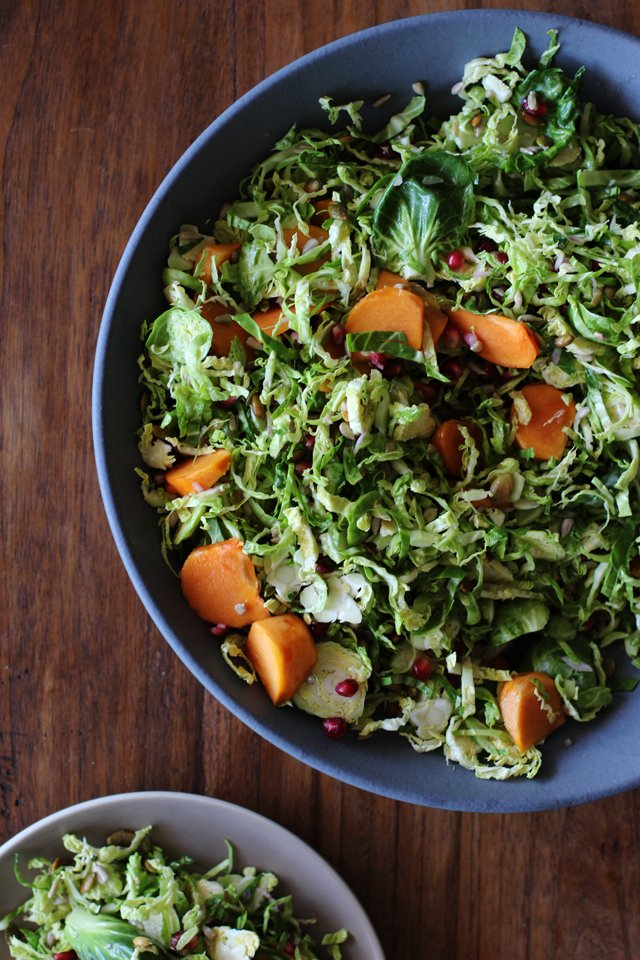 Shaved brussels sprout salad 3