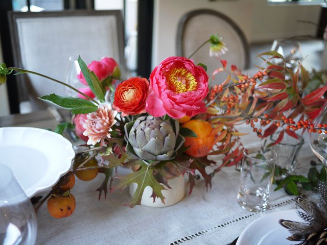 Diy thanksgiving centerpiece with studio choo honestlyyum