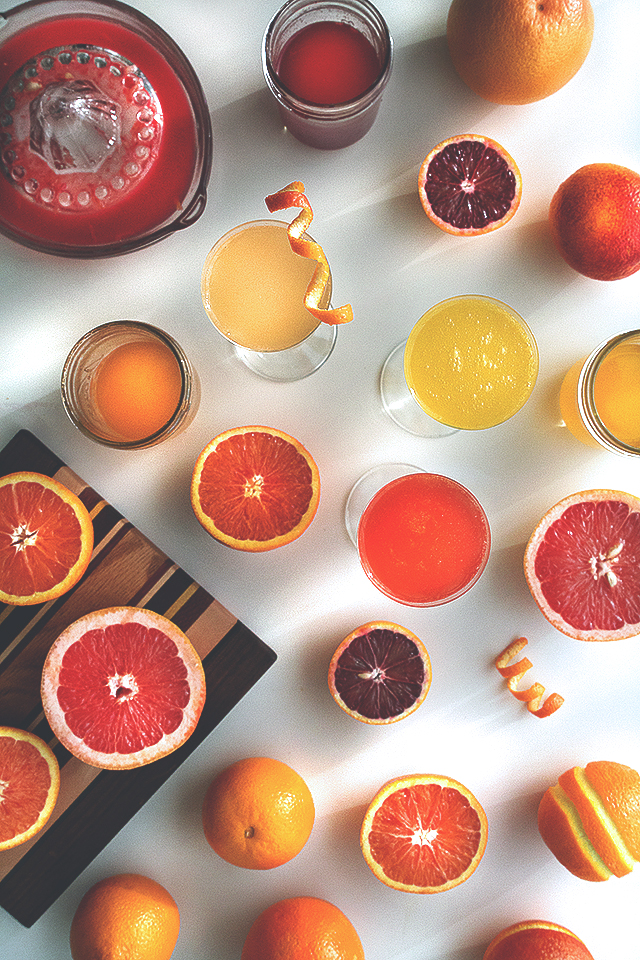 Citrus Cordial Sparkler // HonestlyYUM