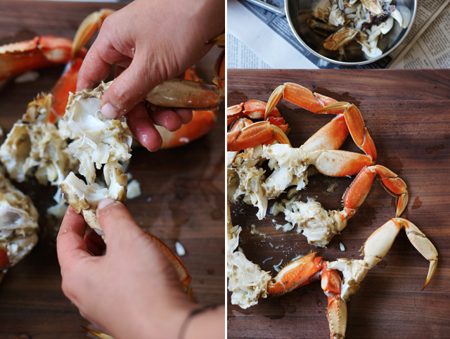 How to shell a crab 4