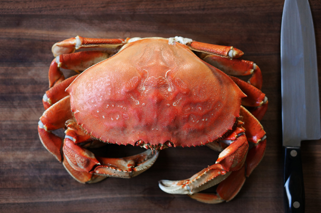 How to shell a crab