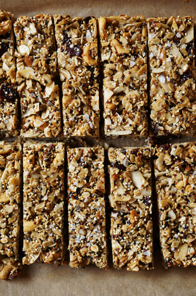 Quinoa Trail Mix Bars