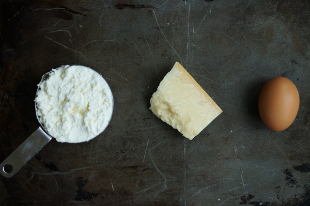 Ricotta dip ingredients