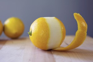 Meyer Lemon Peel Simple Syrup Recipe