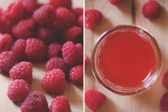 Raspberry Syrup Recipe // HonestlyYUM