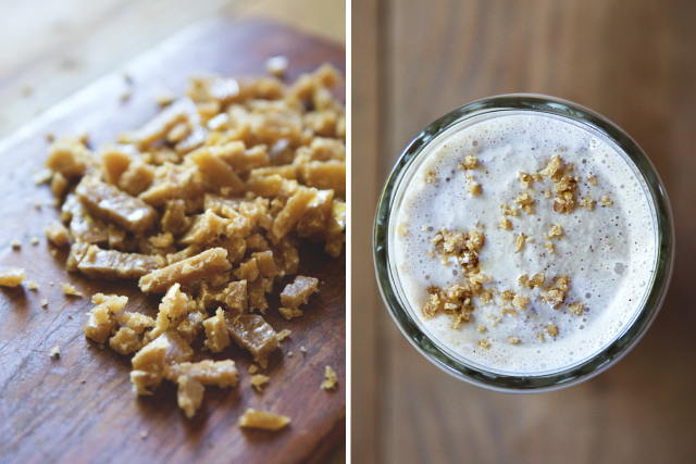 How to make toffee bits // HonestlyYUM