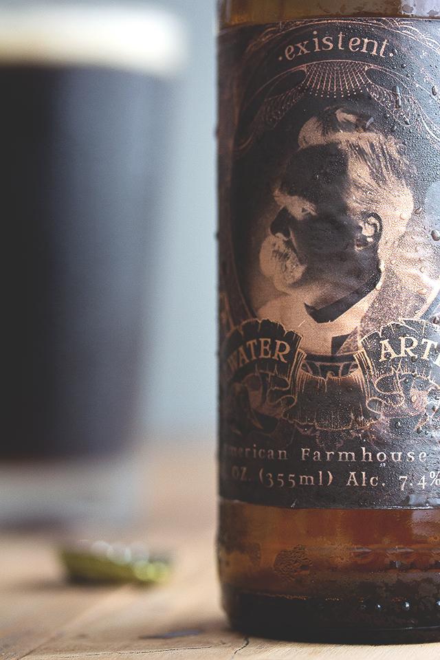 Existent - American Farmhouse Ale, Stillwater Artisanal Ales // HonestlyYUM