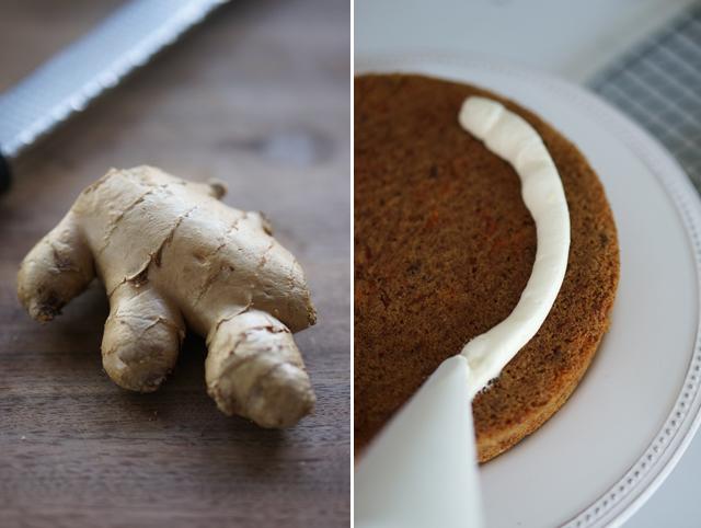 Ginger frosting