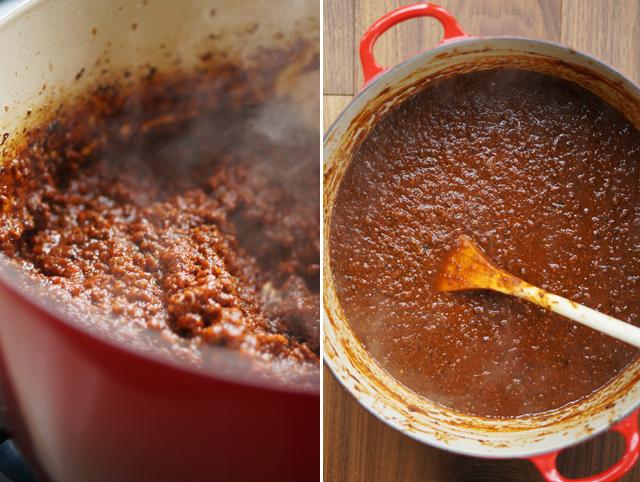 Lamb bolognese sauce