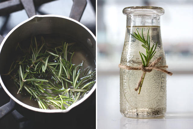 Rosemary Syrup // HonestlyYUM