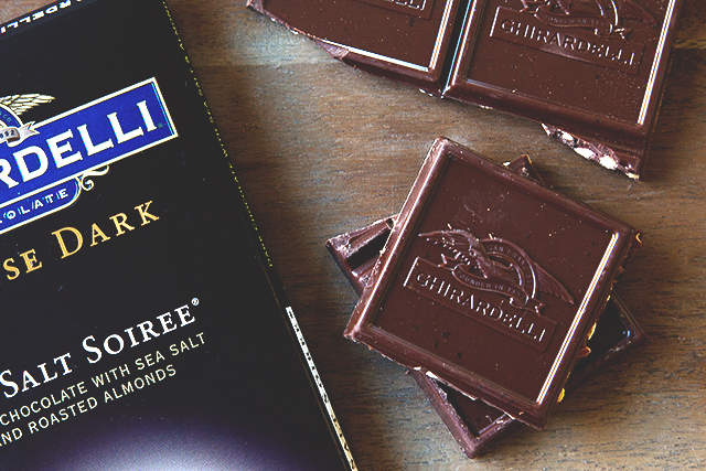 Ghirardelli Chocolate // HonestlyYUM