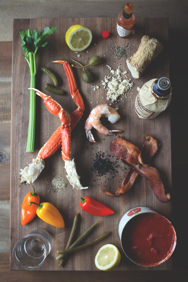 The Ultimate Bloody Mary Garnishes // HonestlyYUM