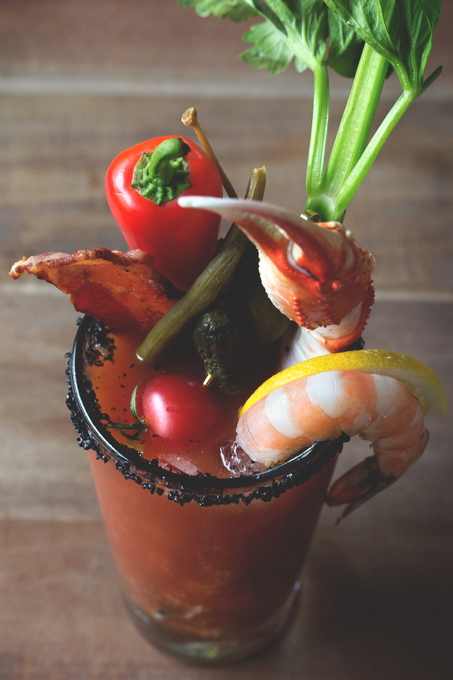 The Ultimate Bloody Mary // HonestlyYUM