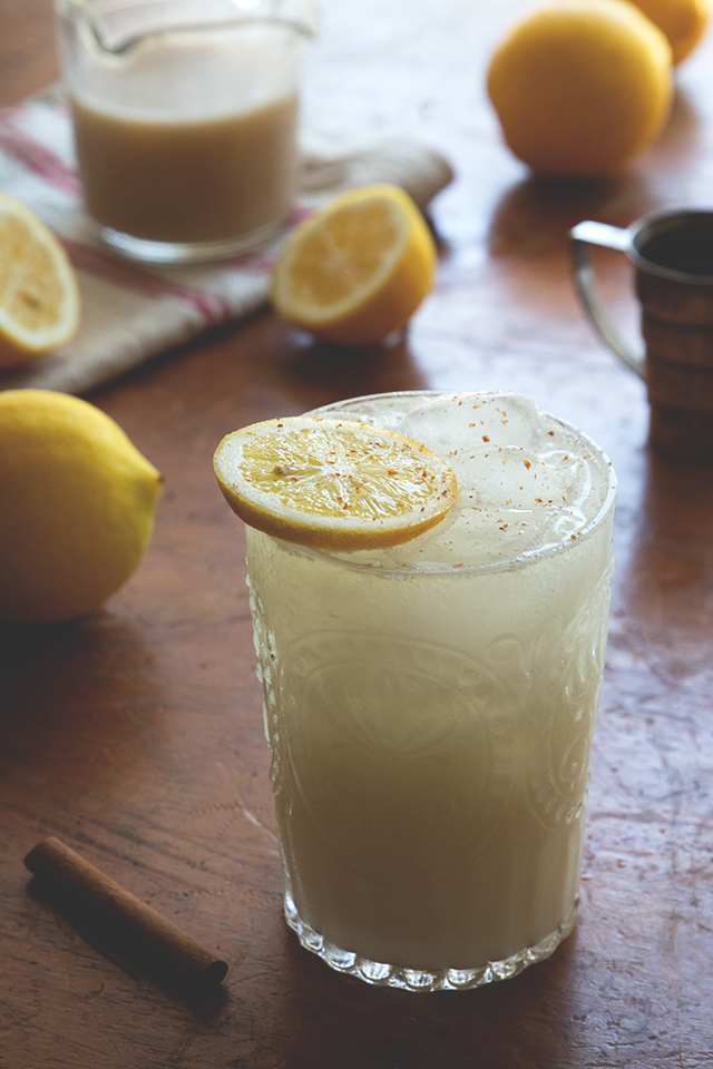 Coconut Chai Lemonade // HonestlyYUM