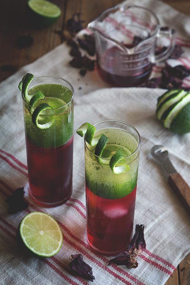 Hibiscus Rum Buck // HonestlyYUM