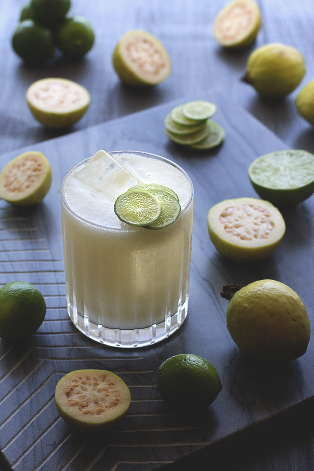 Coconut Guava Agua Fresca from HonestlyYUM