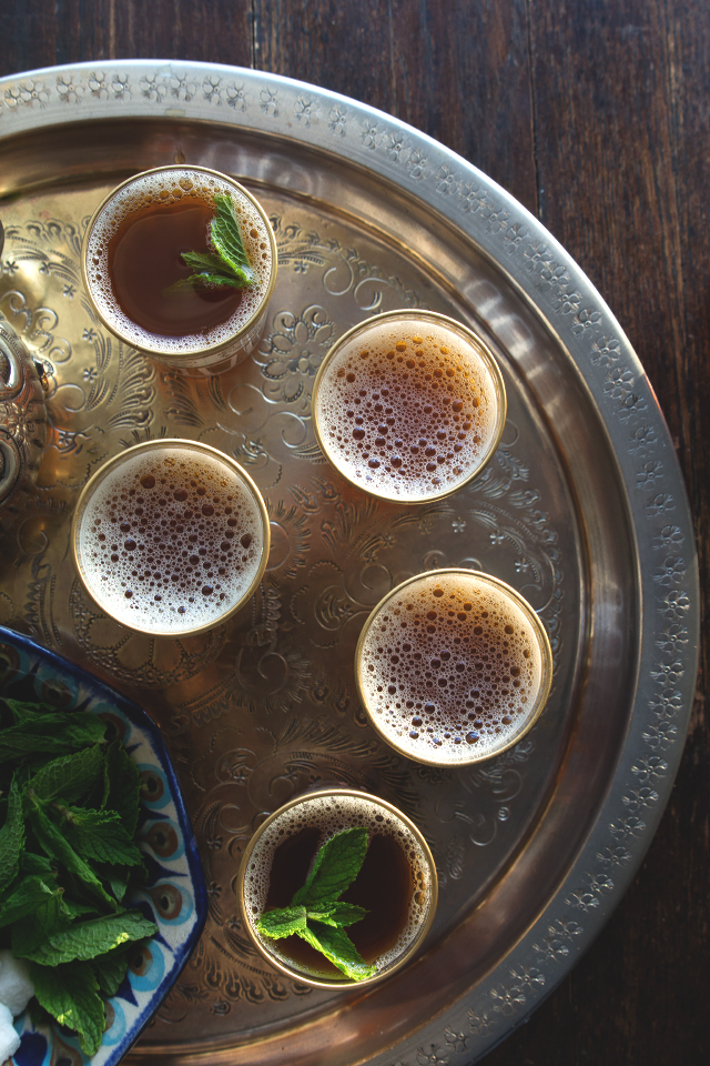 Moroccan Mint Tea by HonestlyYUM