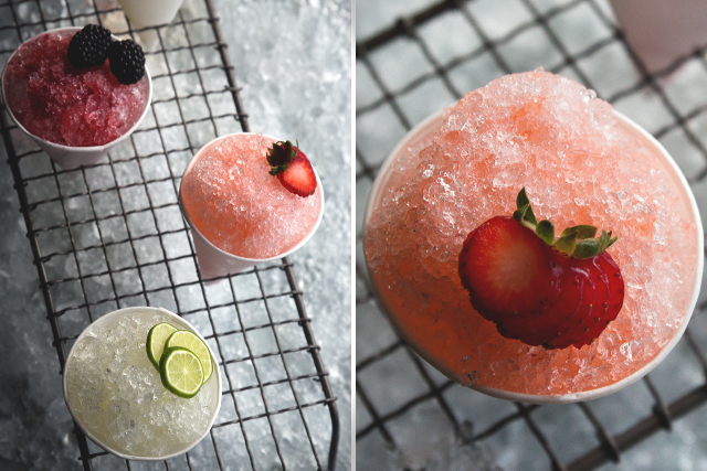 Cocktail Snow Cones by HonestlyYUM