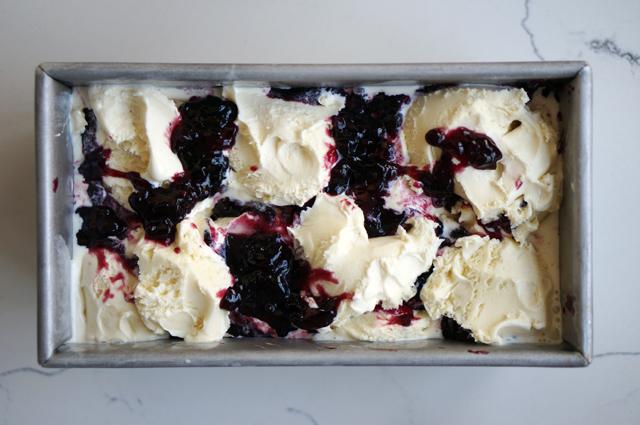Jam ice cream