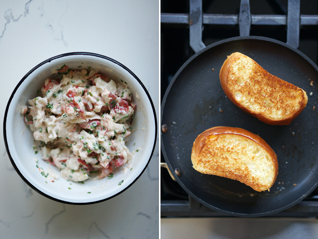Lobster roll bread
