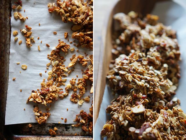 Savory bacon granola