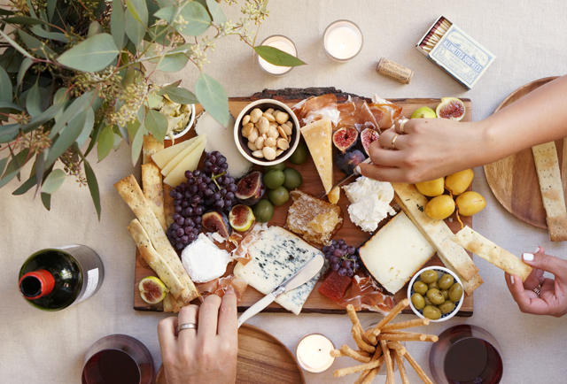 When it comes to the cheese I usually stick to the classic rules of having a hard soft blue and aged. This time I also added some ricotta which pairs so ... & The Perfect Fall Cheese Platter u2013 HonestlyYUM