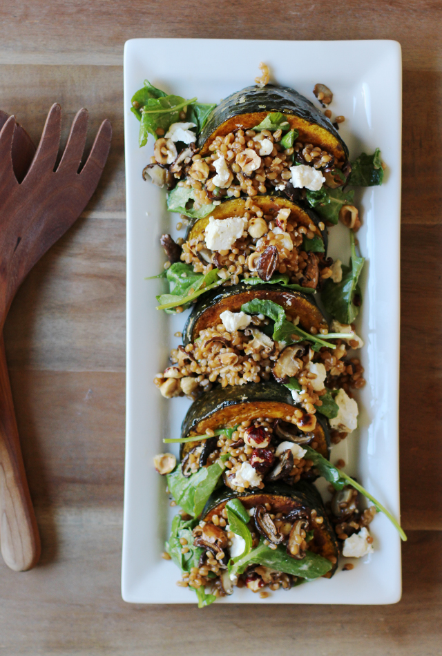 Kabocha Squash Salad | HonestlyYUM