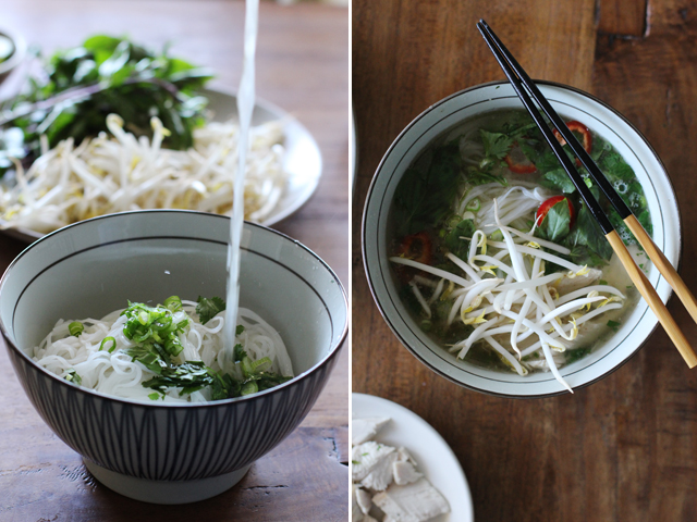 Turkey pho broth