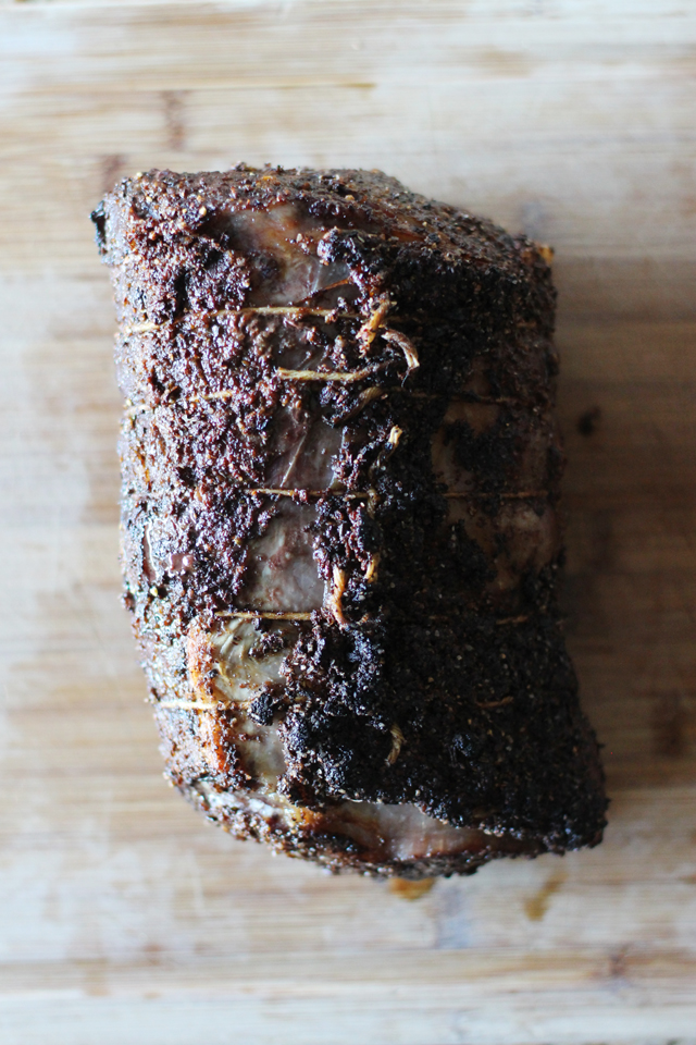 Porcini Rib roast | HonestlyYUM