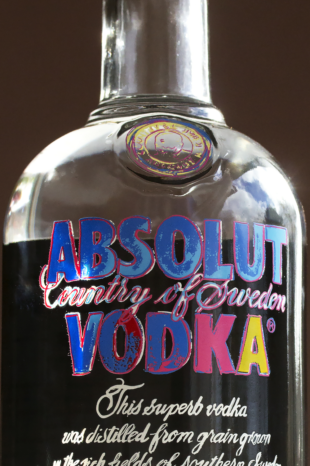 Absolut Warhol via HonestlyYUM