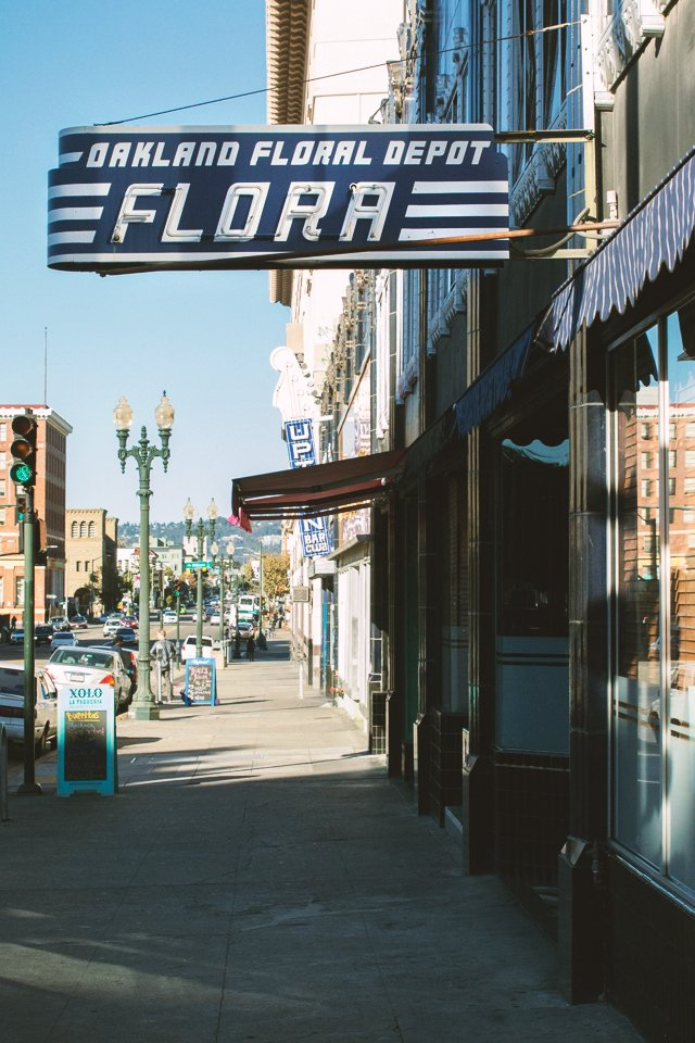 Flora, downtown Oakland | HonestlyYUM