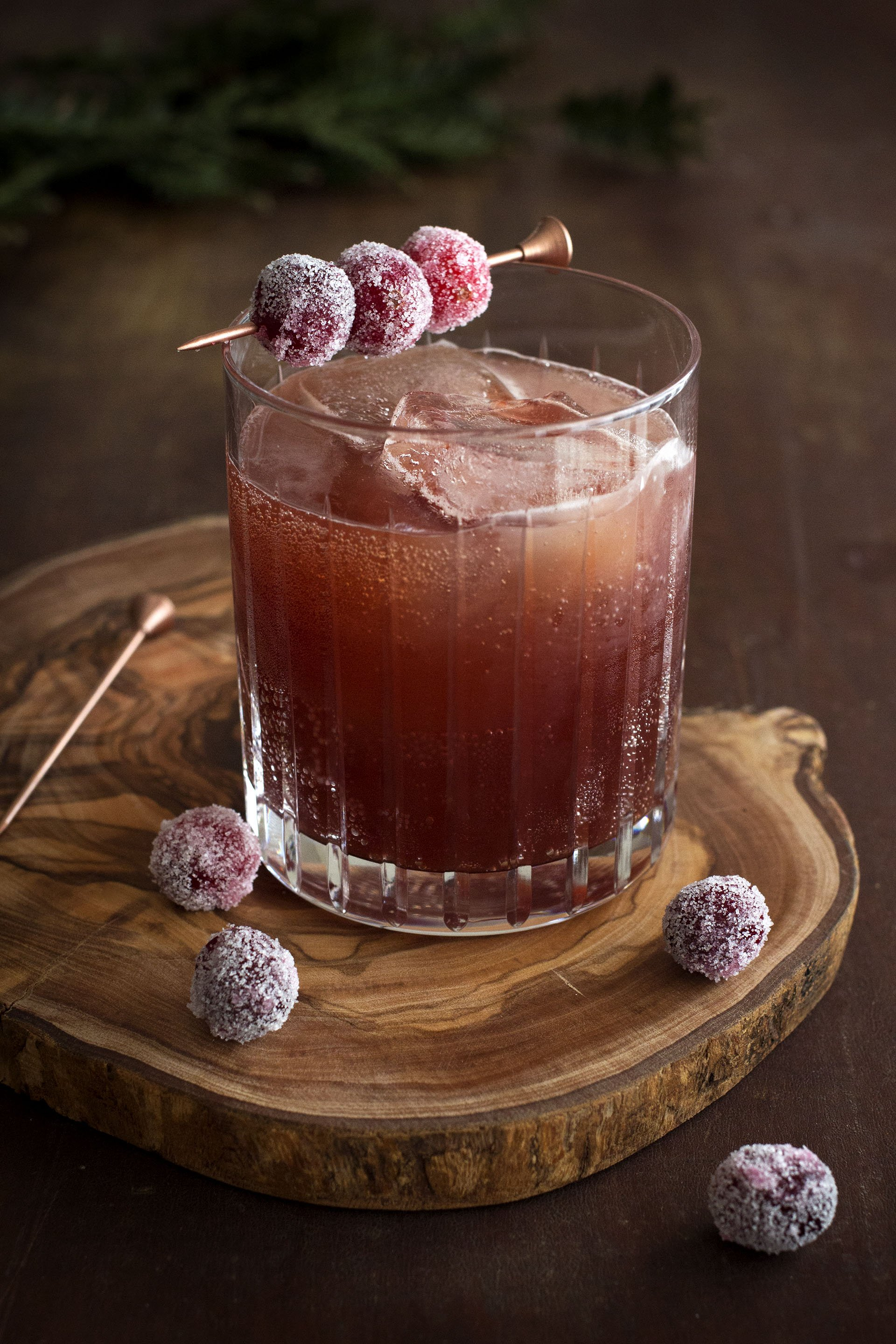 Cranberry Shrub w/ Douglas Fir from Shrub & Co via HonestlyYUM