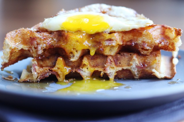 Egg and Waffles